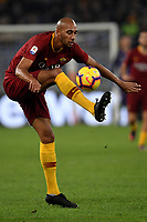 Steven Nzonzi of AS Roma in action during the Serie A 2018/2019 football match between AS Roma and FC Internazionale at stadio Olimpico, Roma, December, 2, 2018 <br />  Foto Andrea Staccioli / Insidefoto