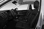 Front seat view of a 2018 Mitsubishi Outlander Sport SEL 5 Door SUV front seat car photos