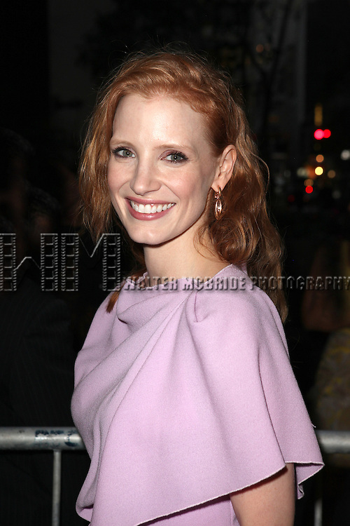 Jessica Chastain attending the Opening Night Performance of the Roundabout Theatre Production of  'If There Is I Haven't Found It Yet' at the Laura Pels Theatre in New York City on 9/20/2012.