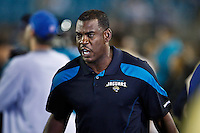 December 05, 2011:   Jacksonville Jaguars interim head coach Mel Tucker during first half action between the Jacksonville Jaguars and the San Diego Chargers played at EverBank Field in Jacksonville, Florida.  ........