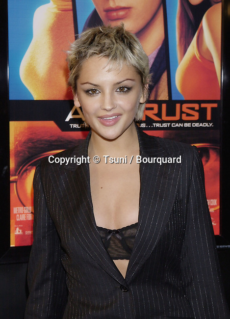 Jan 10, 2001; Los Angeles, CA, USA; <br /> The Antitrust 1e was held on a rainy day of Los Angeles  at the Bruin Theatre<br /> <br /> Leigh.Cook.Rachael.08.jpg
