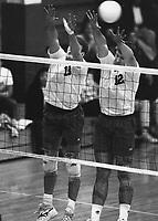 1992: Dave Goss (13) and John Bezmalinovic (12).