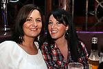 Rebecca Jones and karen Vaughey in shooters..Pic Fran Caffrey/newsfile.ie