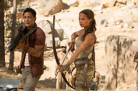 Tomb Raider (2018) <br /> Daniel Wu, Alicia Vikander<br /> *Filmstill - Editorial Use Only*<br /> CAP/KFS<br /> Image supplied by Capital Pictures