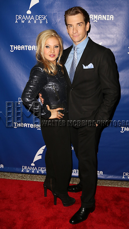Orfeh and Andy Karl - attends the 2015 Drama Desk Awards at Town Hall on May 31, 2015 in New York City.