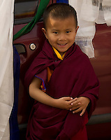 Little Buddhist Monk Sikkim, India