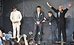 """Byung-hun Lee, Jon M. Chu and Joe Shishido, May 27, 2013 : Tokyo, Japan : (L-R)South Korean Aactor Byung hun Lee, director Jon M. Chu and Japanese actor Joe Shishido attend the Japan premiere for the film """"G.I.Joe:Retaliation"""" in Tokyo, Japan, on May 27, 2013. The film will open on June 7 in Japan. (Photo by Keizo Mori/AFLO)"""