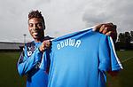 Nathan Oduwa arrives at Rangers