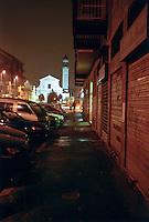 Milano, quartiere Greco, periferia nord. Chiesa --- Milan, Greco district, north periphery. Church