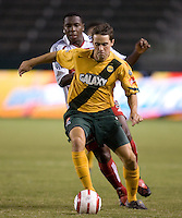Todd Dunivant at the US Open Cup at the Home Depot Center, in Carson, Calif., Wednesday, September 28, 2005.