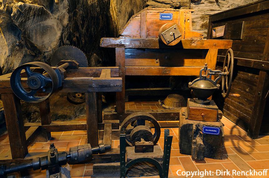 Mühlenmuseum in Hotel Vieux Moulin, Domaine du Moulin d'Asselborn, 158 Asselborn, 9940 Asselborn, Luxemburg