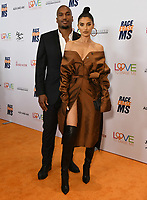 10 May 2019 - Beverly Hills, California - Larry Williams, Nicole Williams-English. 26th Annual Race to Erase MS Gala held at the Beverly Hilton Hotel. <br /> CAP/ADM/BT<br /> &copy;BT/ADM/Capital Pictures