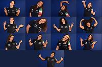 Giulia Gorlero , Chiara Tabani, Arianna Garibotti, Silvia Avegno , Elisa Queirolo, Rosaria Aiello , Carla Carrega , Roberta Bianconi , Giulia Emmolo , Valeria Palmieri , Izabella Chiappini , Claudia Marletta , Loredana Sparano <br /> Budapest 10/01/2020 Duna Arena <br /> Portrait Italy Women National Team <br /> Photo Andrea Staccioli / Insidefoto / Deepbluemedia