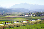 Action from the Men U23 Road Race of the 2018 UCI Road World Championships running 179.5km from Wattens to Innsbruck, Innsbruck-Tirol, Austria 2018. 28th September 2018.<br /> Picture: Innsbruck-Tirol 2018 | Cyclefile<br /> <br /> <br /> All photos usage must carry mandatory copyright credit (&copy; Cyclefile | Innsbruck-Tirol 2018)