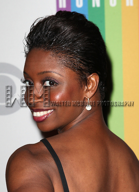 Montego Glover attending the 35th Kennedy Center Honors at Kennedy Center in Washington, D.C. on December 2, 2012