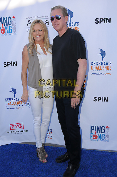 11 August 2016 - Los Angeles, California. Orel Hershiser. Clayton Kershaw's 4th Annual Ping Pong 4 Purpose Celebrity Tournament held at Dodger Stadium. <br /> CAP/ADM/BT<br /> &copy;BT/ADM/Capital Pictures