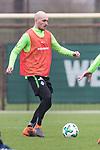14.04.2018, Trainingsgelaende, Bremen, GER, 1.FBL, Training SV Werder Bremen<br /> <br /> im Bild<br /> Luca Caldirola (Werder Bremen #03), <br /> <br /> Foto &copy; nordphoto / Ewert