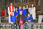 Killocrim NS Cnfirmations : The pupils from Killocrim NS, Listowel who were confirmed in St. Mary's Church, Listowel by Bishop Bill Murphy on Wednesday 21st March..Front Left to right: Cheyenne Downey, Bishop Bill Murphy, Megan Enright.Back Left to right: Canon Declan O'Connor, Hannah Meyler, Darren Costello, Sean Broderick, Grainne O'Connor (Class Teacher), Catherine O'Driscoll (Principal).