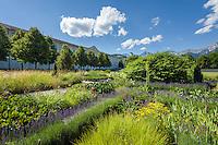 Austria, Styria, Admont: Admont Abbey, monastery garden | Oesterreich, Steiermark, Admont: Stift Admont, Klostergarten