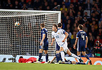 06.09.2019 Scotland v Russia, European Championship 2020 qualifying round, Hampden Park:<br /> Artem Dzyuba scores and celebrates his goal for Russia