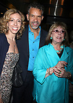 Amanda Green, Brian Stokes Mitchell & Phyllis Newman attending the NOTHING LIKE A DAME Benfit Evening at the World Stages in New York City.<br />June 15, 2009