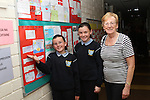 Mairead McGuinness raises Green Flag at Scoil Spioraid Naomh May 2012