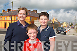 Gillian Slattery, Helen O'Connell and Oran.O'Connell in Abbeydorney