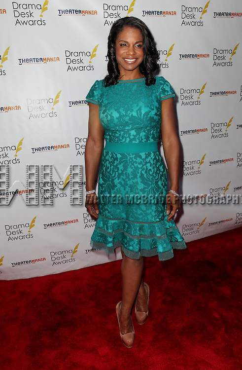 Audra McDonald pictured at the 57th Annual Drama Desk Awards held at the The Town Hall in New York City, NY on June 3, 2012. © Walter McBride