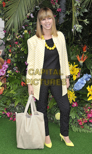 LONDON, ENGLAND - MARCH 30: Kate Garraway attends the &quot;Rio 2&quot; VIP film screening, Vue West End cinema, Leicester Square, on Sunday March 30, 2014 in London, England, UK.<br /> CAP/CAN<br /> &copy;Can Nguyen/Capital Pictures