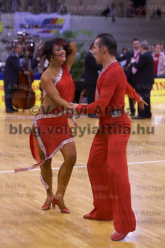 Maurizio Vescovo and Melinda Torokgyorgy won the title of Hungarian Latin-american Dance Champion the 8th time when they announced their turning professional in in Gyor, Hungary on November 03, 2007. ATTILA VOLGYI