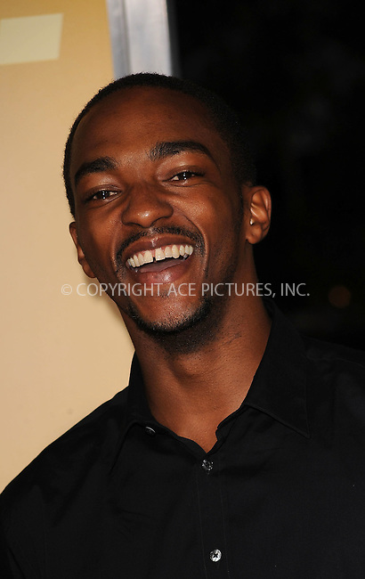 WWW.ACEPIXS.COM . . . . . ....September 15 2009, New York City....Anthony Mackie arriving at the 'The Informant' benefit screening at the Ziegfeld Theatre on September 15, 2009 in New York City.....Please byline: KRISTIN CALLAHAN - ACEPIXS.COM.. . . . . . ..Ace Pictures, Inc:  ..tel: (212) 243 8787 or (646) 769 0430..e-mail: info@acepixs.com..web: http://www.acepixs.com