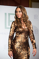 Spanish singer Monica Naranjo during a beauty promotional presentation in Madrid, Spain. January 20, 2015. (ALTERPHOTOS/Victor Blanco) /NortePhoto