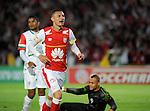 En el último partido de la séptima fecha del torneo apertura, Independiente Santa Fe doblegó 3-0 a Cortuluå en 'El Campin'. Miguel Borja de penalti y Luis Páez en dos oportunidades le dieron la victoria al vigente campeón.