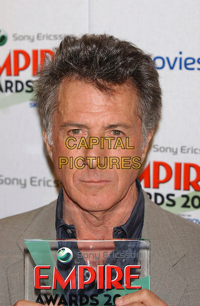 DUSTIN HOFFMAN.Empire Awards 2003, Dorchester Hotel, London, UK..February 2nd, 2003.headshot portrait .CAP/PL.©Phil Loftus/Capital Pictures