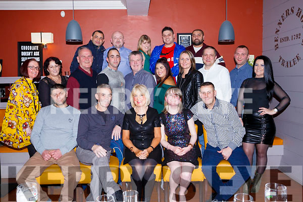 The staff of Belle Bia Restraurant enjoying their Christmas party in Benners Hotel on Monday night last.
