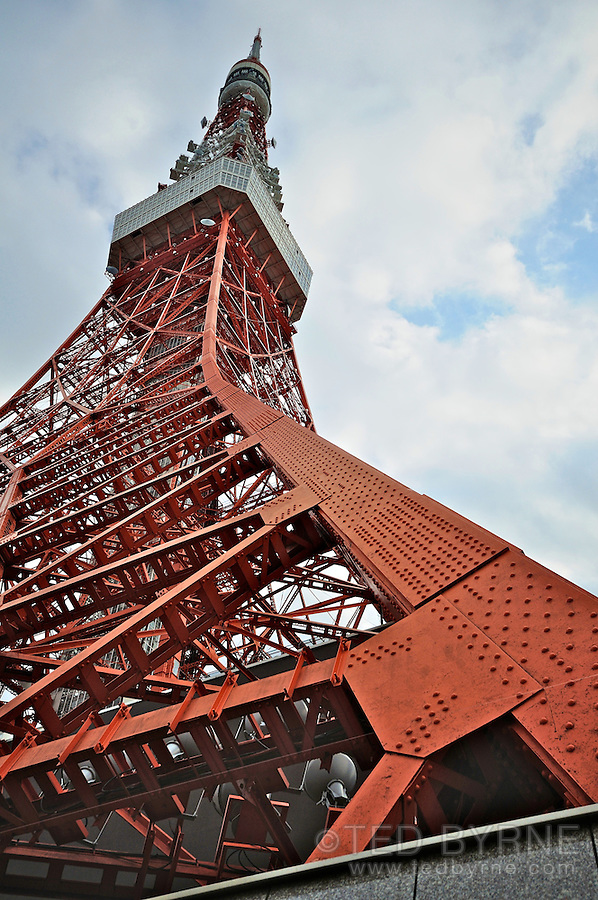 Tokyo Tower ground view