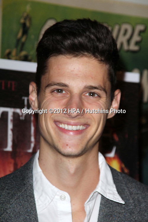 """LOS ANGELES - SEP 28:  Ken Baumann arrives at the """"Cottage"""" Premiere at Academy of Motion Pictures Arts and Sciences on September 28, 2012 in Beverly Hills, CA"""