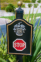 Rancho Palos Verdes, CA, Trump National Golf Course, Stop Sign, Palos Verdes, Peninsula, Trump National Golf Club,