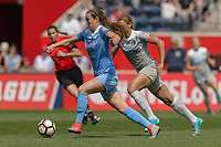 Bridgeview, IL - Saturday May 27, 2017: Katie Naughton during a regular season National Women's Soccer League (NWSL) match between the Chicago Red Stars and the North Carolina Courage at Toyota Park. The Red Stars won 3-2.
