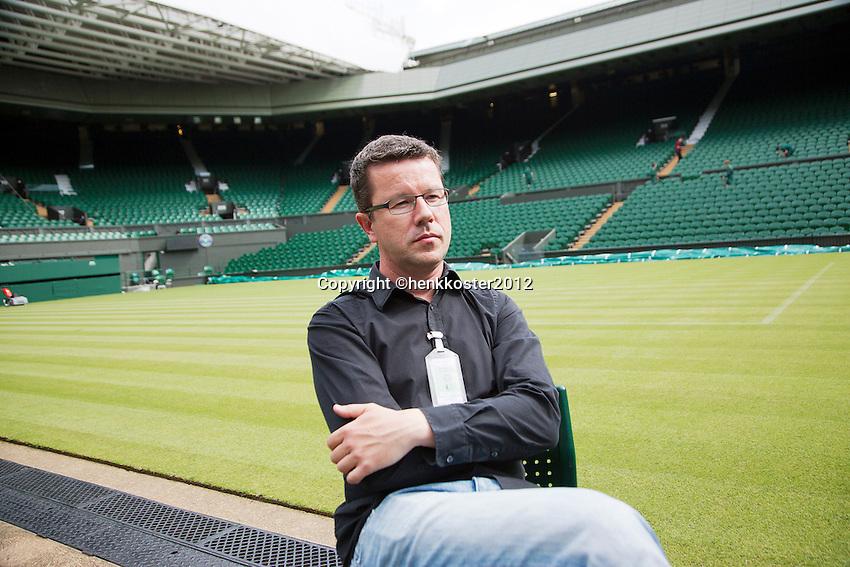 20-06-12, England, London, Wimbledon, Tennis,