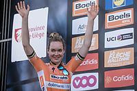 On podium as a Winner &gt; Anna van der Breggen (NED/Boels Dolmans)<br /> <br /> <br /> 21st La Fl&egrave;che Wallonne Femmes <br /> 1 day race: Huy - Huy (118,5KM)