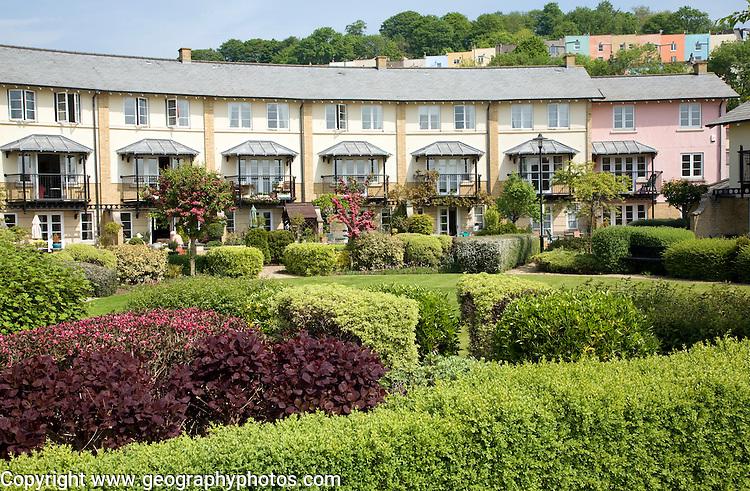 Modern housing development, Hotwells, docklands area, Bristol