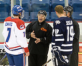 Maury Edwards (Lowell - 7), John Gravallese, Mike Sislo (UNH - 19), Andy O'Brien - The visiting University of New Hampshire Wildcats defeated the University of Massachusetts-Lowell River Hawks 3-0 on Thursday, December 2, 2010, at Tsongas Arena in Lowell, Massachusetts.