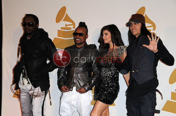 Will.i.Am, Apl.de.Ap, Stacy 'Fergie' Ferguson, and Taboo of the Black Eyed Peas<br /> at The GRAMMY Nominations Concert Live!, Club Nokia, Los Angeles, CA.  12-02-09<br /> David Edwards/DailyCeleb.com 818-249-4998
