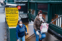 New York, New York City in the time of Coronavirus. Over 2000 homeless were recently removed from camping out in the New York City subway in an attempt to clean up the cars. The subway is now closed from 1-5 am for cleaning, the first time in 115 years. A necessary move as the city moves towards opening up, scientists believe the coronavirus can survive on stainless steel for up to three days.