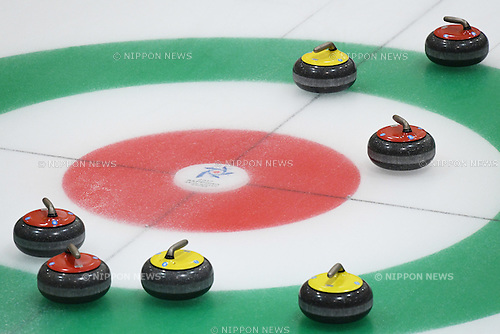 General view, <br /> FEBRUARY 18, 2017 - Curling : <br /> Men's Round Robin match between<br /> Japan 19-1 Qatar <br /> during the 2017 Sapporo Asian Winter Games <br /> at Sapporo Curling Stadium in Hokkaido, Japan. <br /> (Photo by AFLO SPORT)
