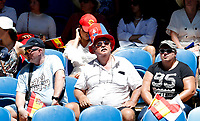 8th January 2020; RAC Arena, Perth, Western Australia; ATP Cup Australia, Perth, Day 6; Spain versus Japan; Spanish supporters watch the match between Spain and Japan - Editorial Use