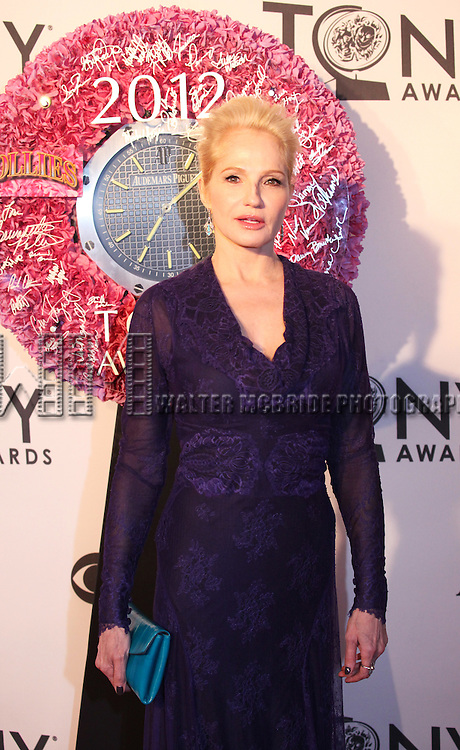 Ellen Barkin pictured at the 66th Annual Tony Awards held at The Beacon Theatre in New York City , New York on June 10, 2012. © Walter McBride / WM Photography