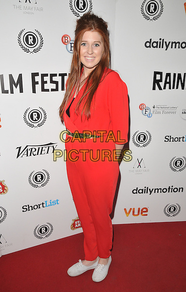 Hatty Preston attends the &quot;Meet Pursuit Delange&quot; Raindance Film Festival world film premiere, Vue Piccadilly cinema, Lower Regent Street, London, England, UK, on Thursday 01 October 2015. <br /> CAP/CAN<br /> &copy;CAN/Capital Pictures