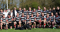 Harpenden celebrate promotion after Harpenden RFC vs Romford & Gidea Park RFC, London 2 Promotion Play-Off Rugby Union at Redbourn Lane on 13th April 2019